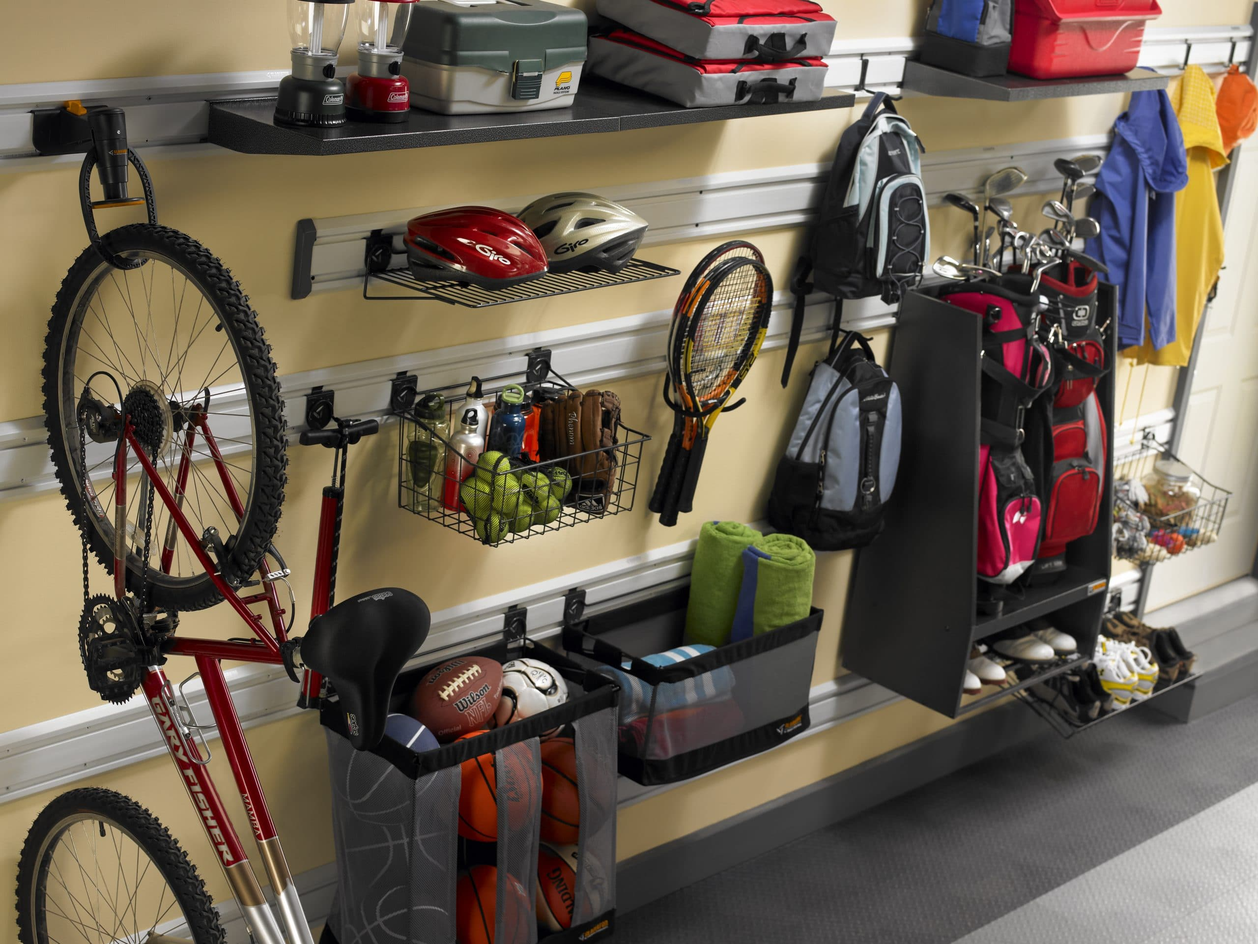 Garage shelving ideas hanging. modern garage storage ideas using ...